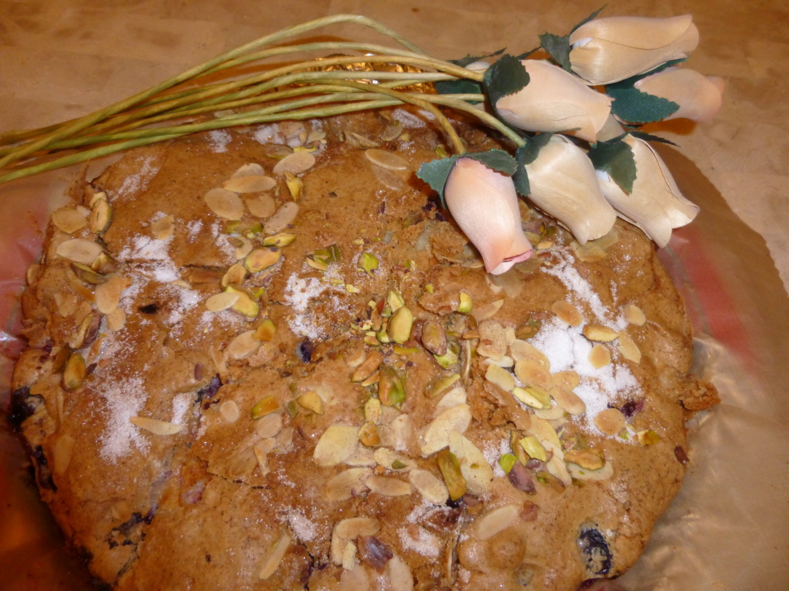 apple and blueberry cake gluten free