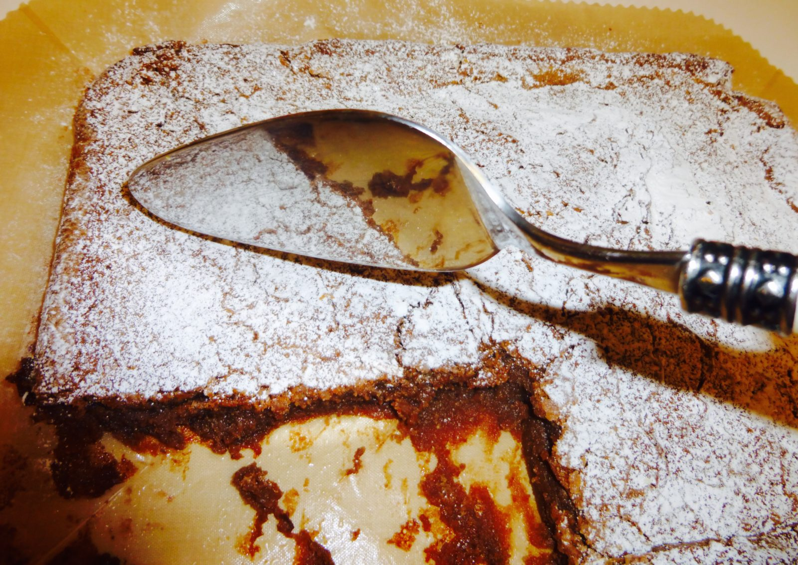 It's a Flourless Chocolate Torte Cake!