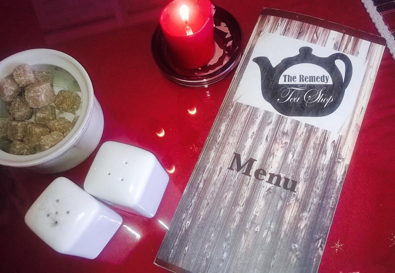 menu remedy tea shop southend