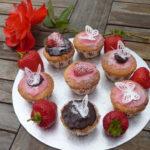 strawberry cupcakes gluten free