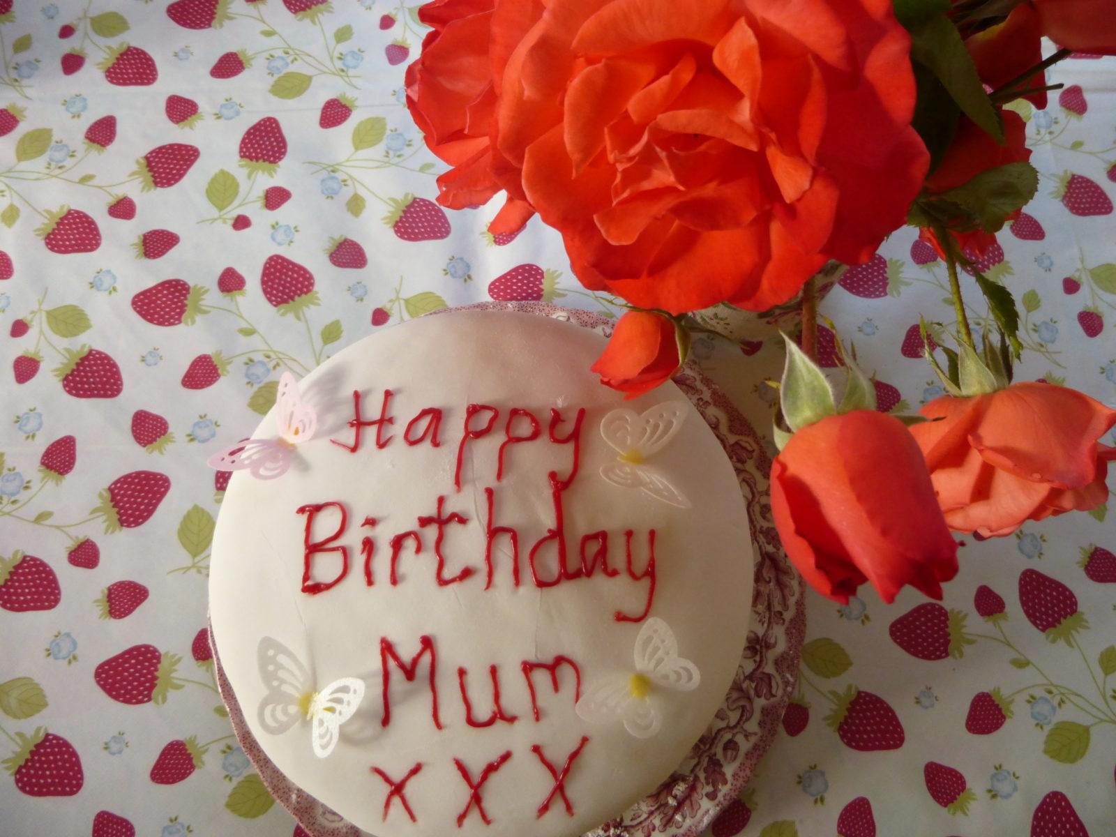 Birthday Victoria Sponge Cake