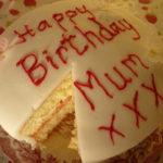 birthday sponge cake gluten free