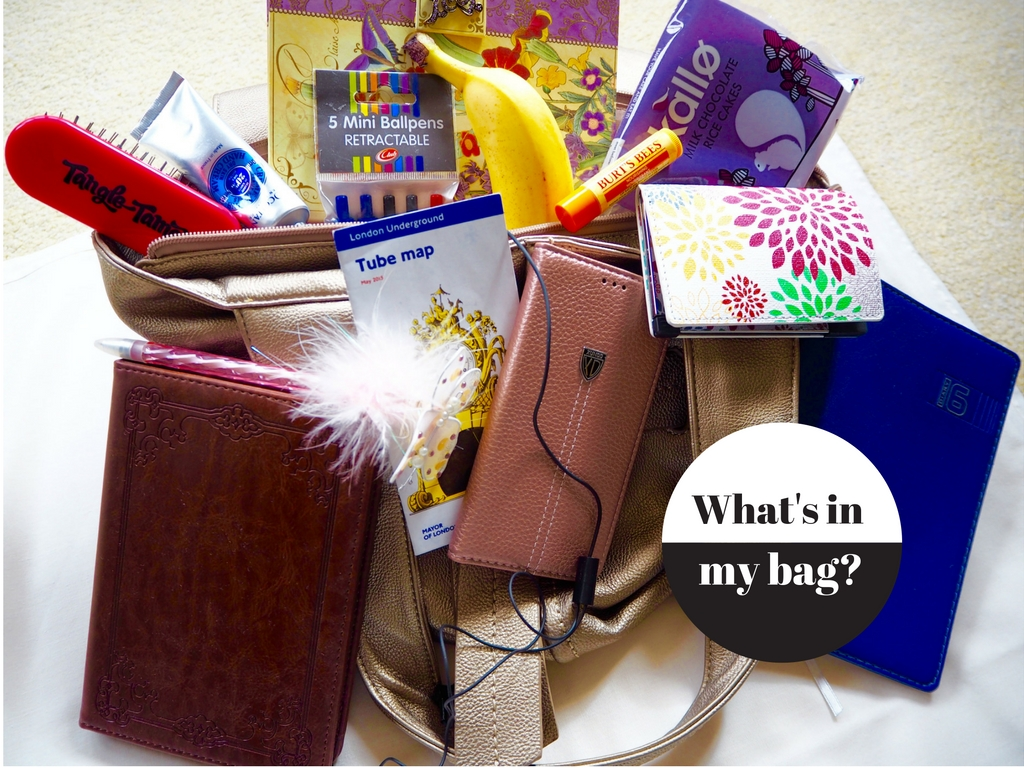 What's in my gluten free handbag?