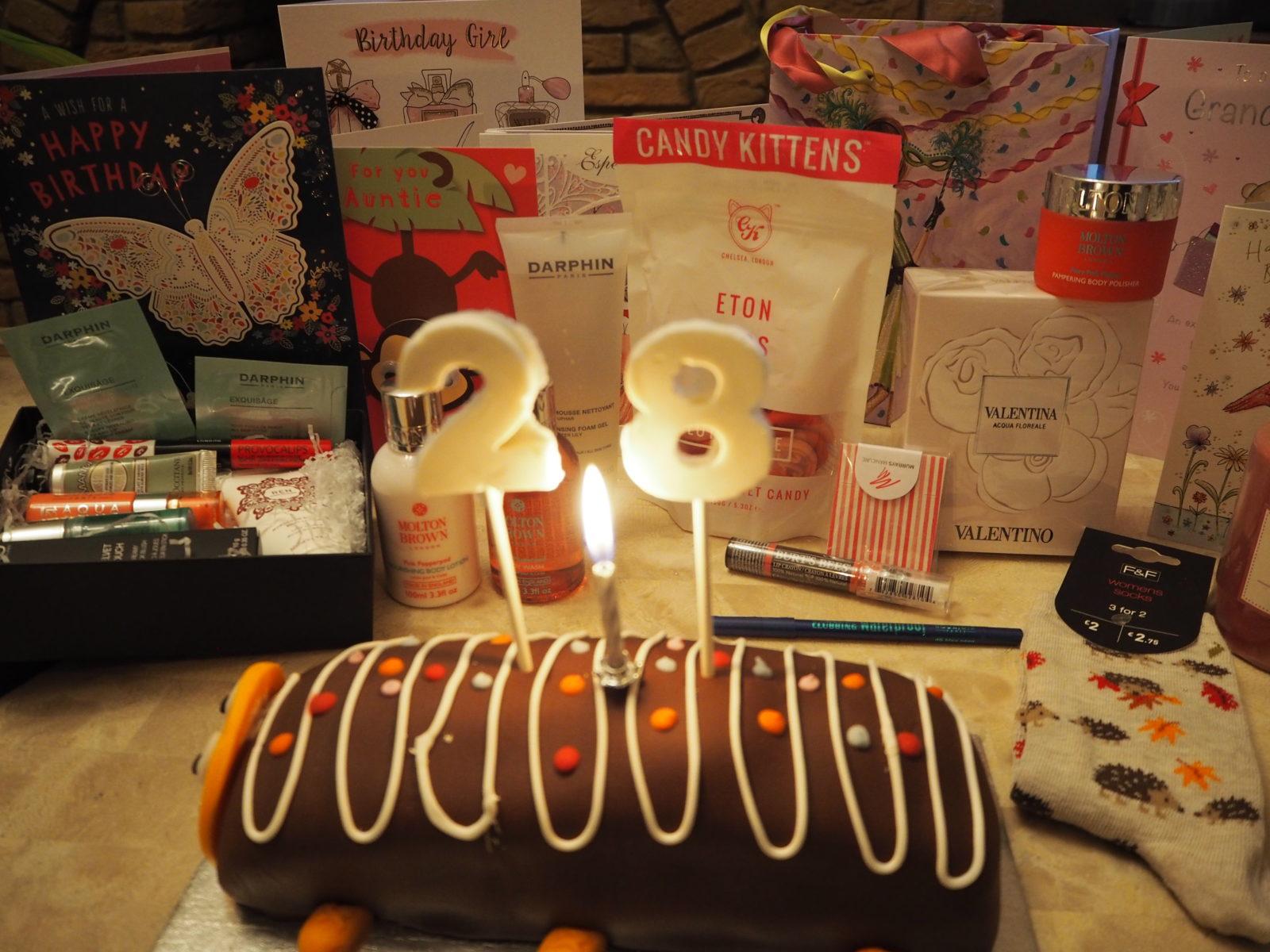 My 28th Birthday Goodies