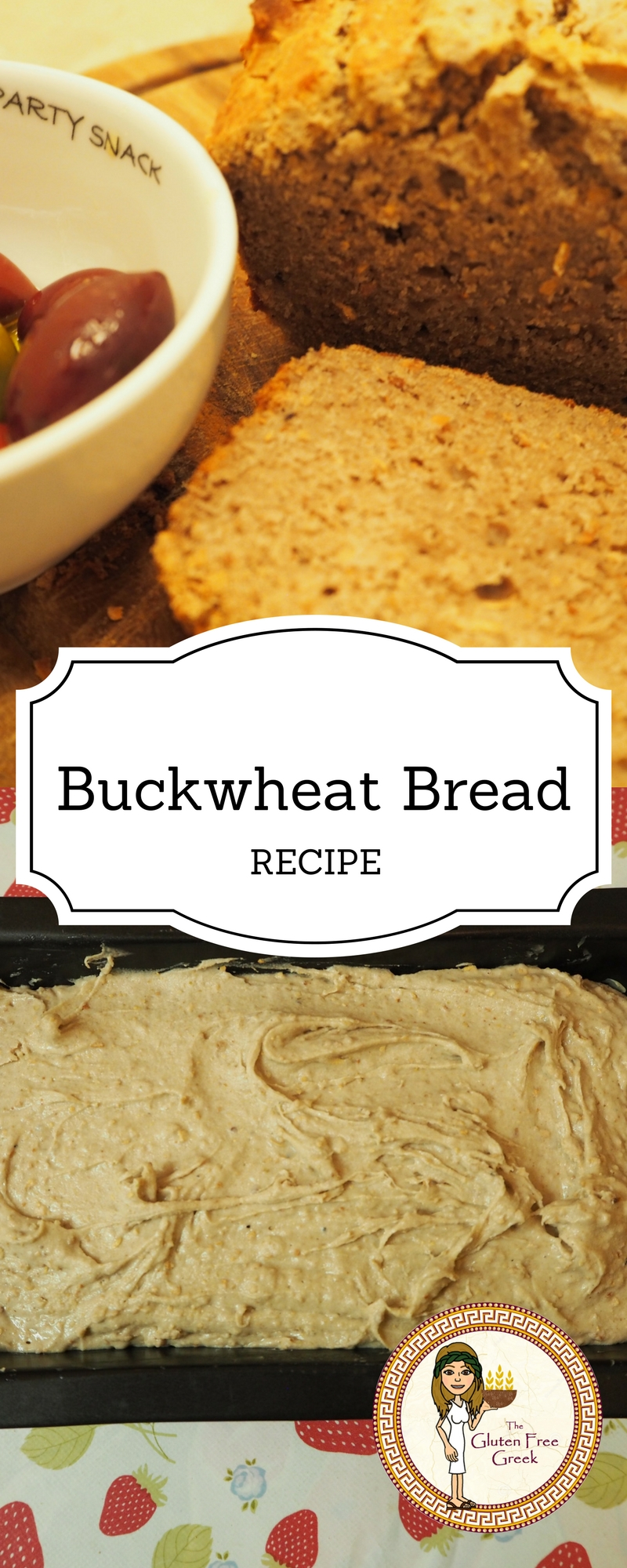 Buckwheat Bread Pinterest