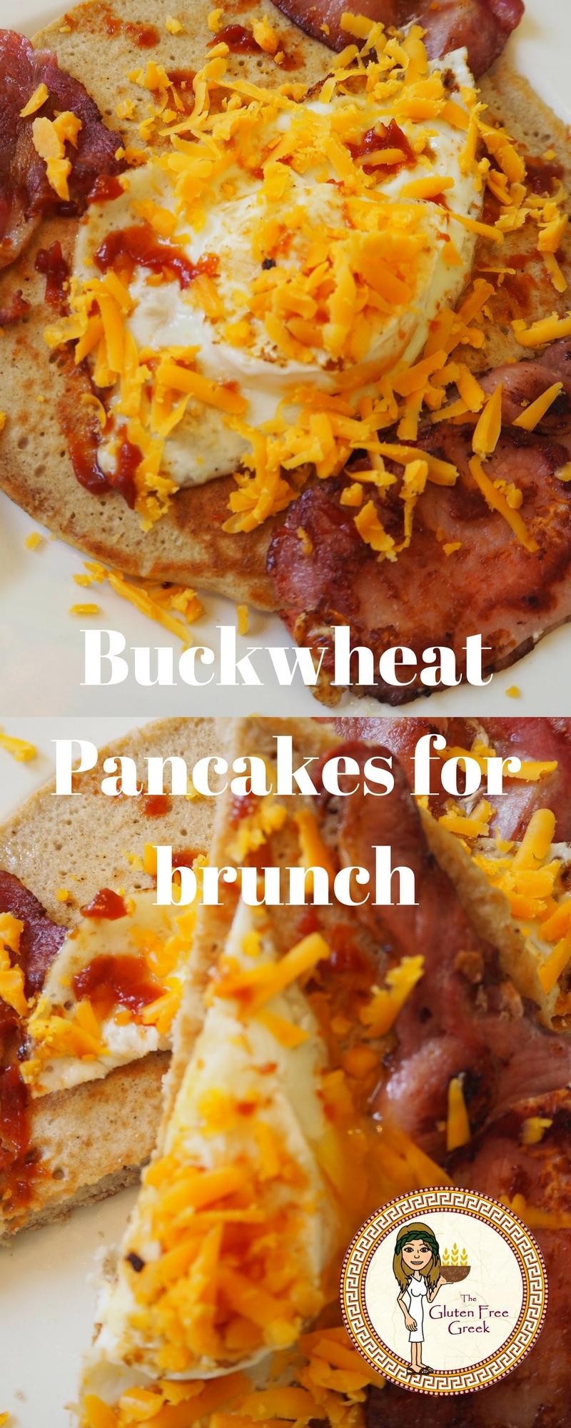 buckwheat pancakes for brunch