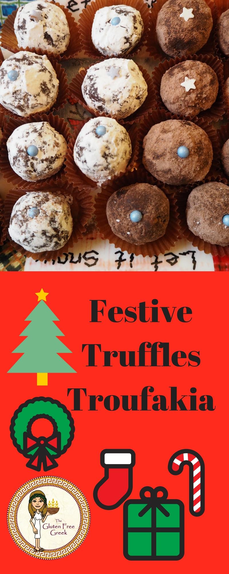 festive truffles pinterest