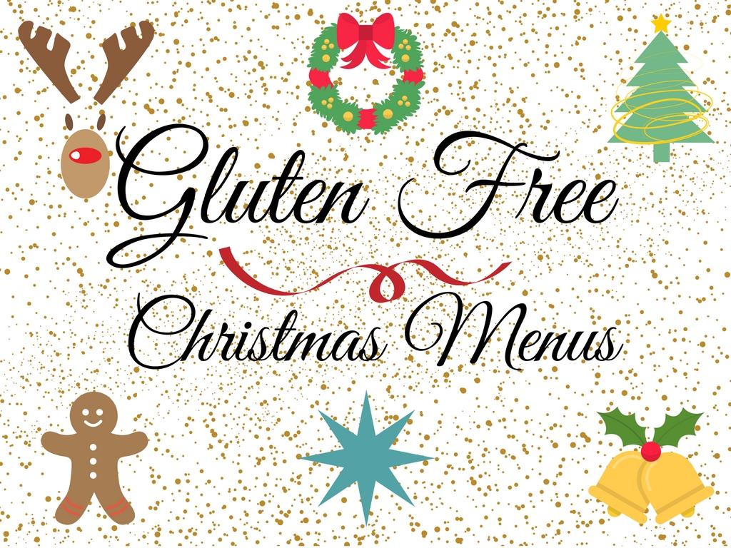 Gluten Free Christmas Menus