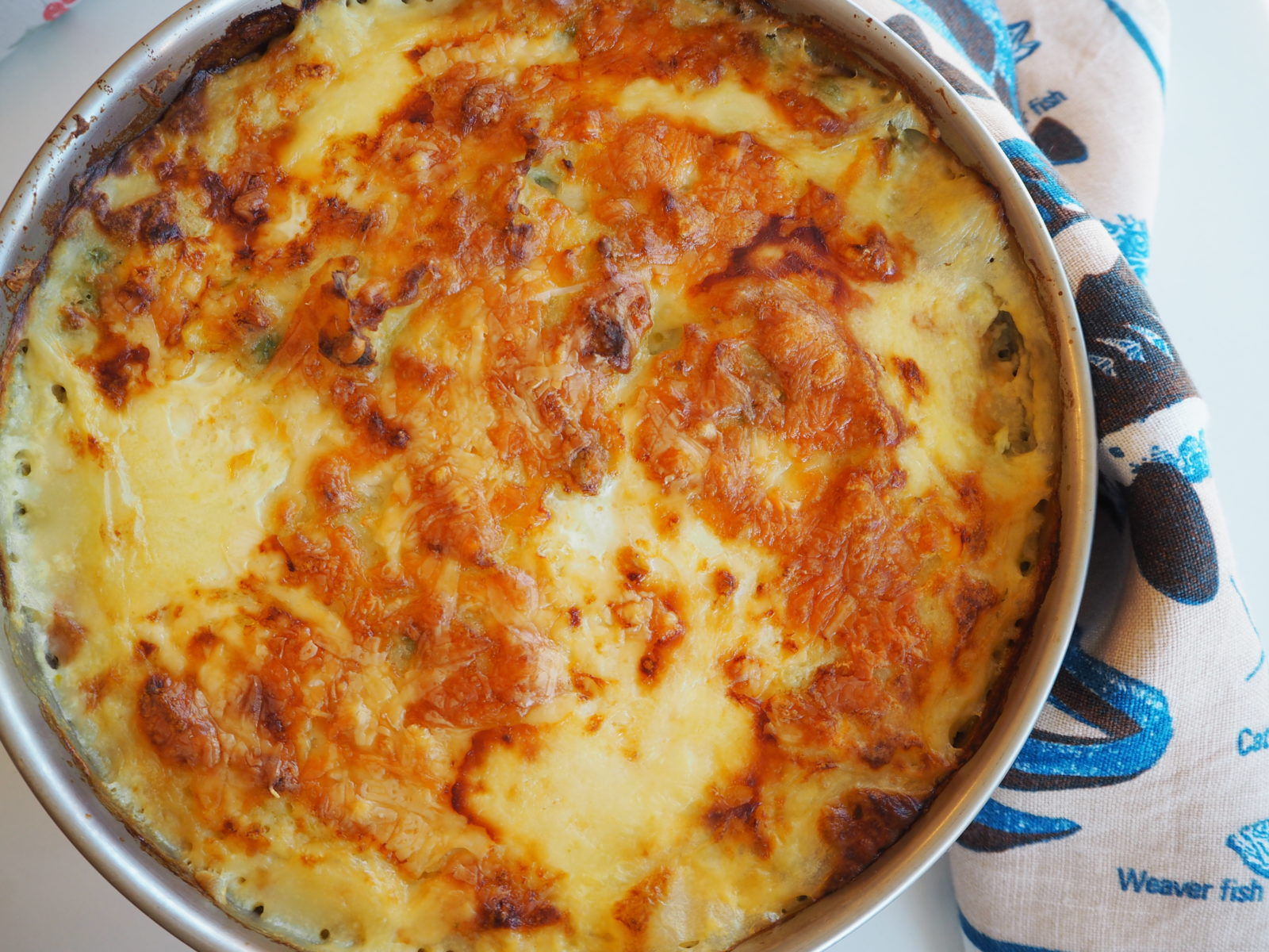 You shall have a fishy on a little dishy Fish Pie