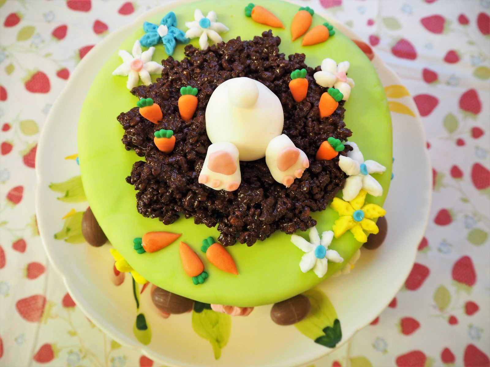 Easter Bunny Cake The Gluten Free Greek