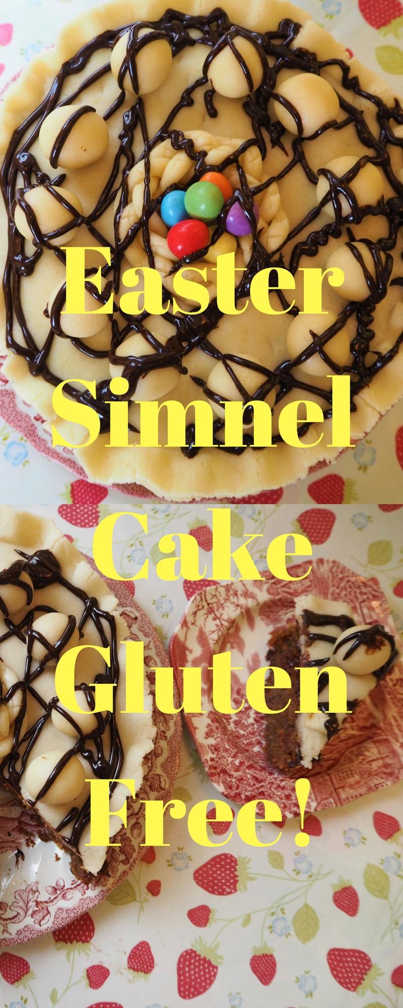 Gluten Free Easter Simnel Cake Pinterest