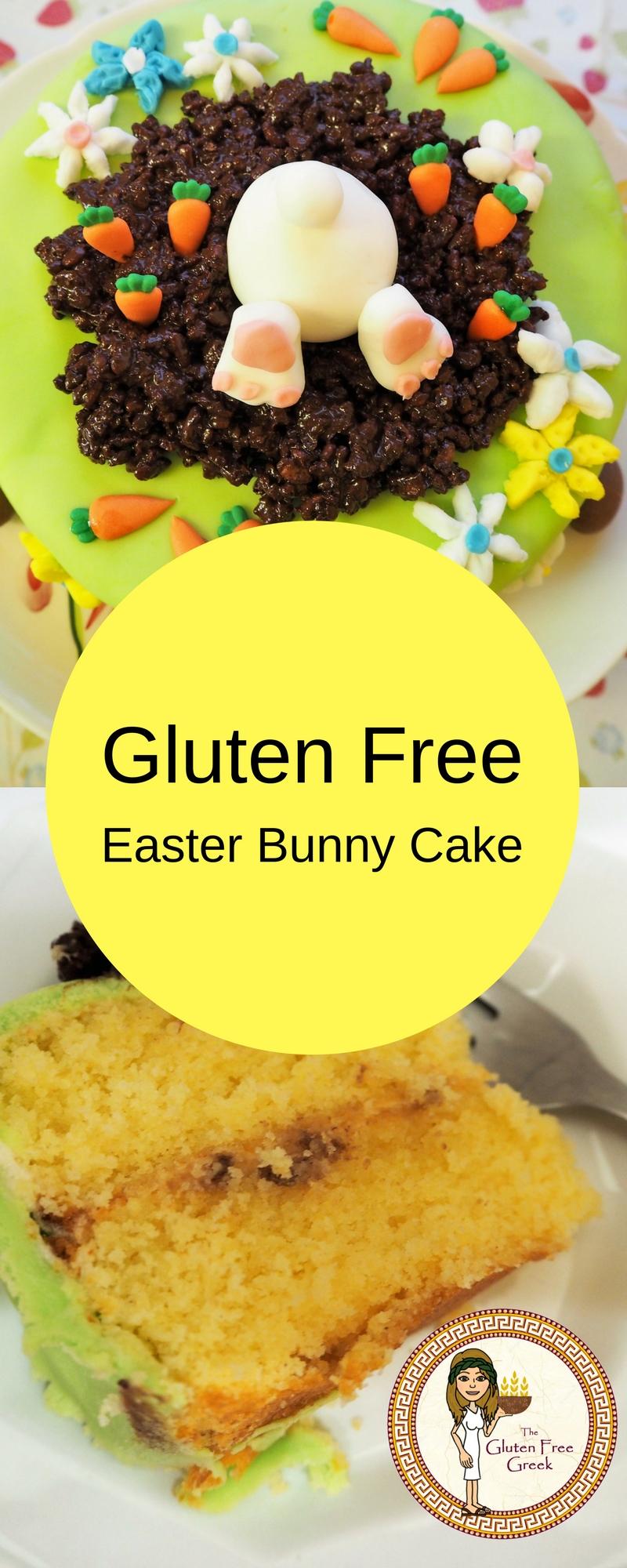 Gluten Free Easter Bunny Cake Pinterest