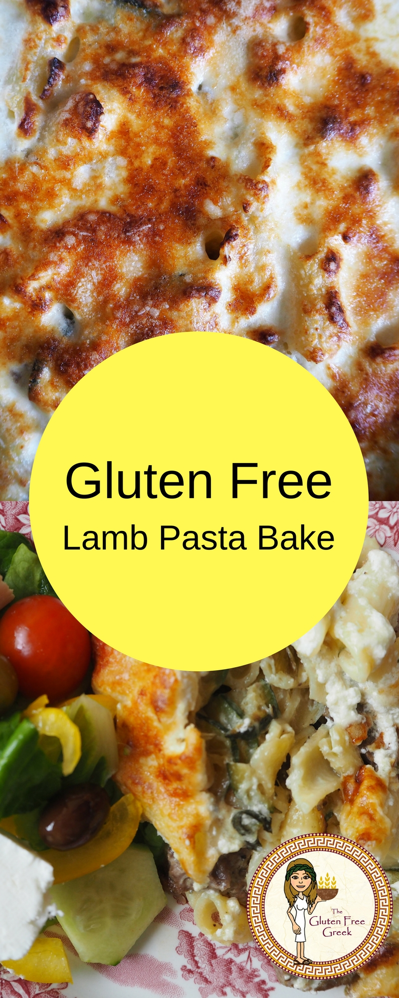 gluten free lamb pasta bake pinterest