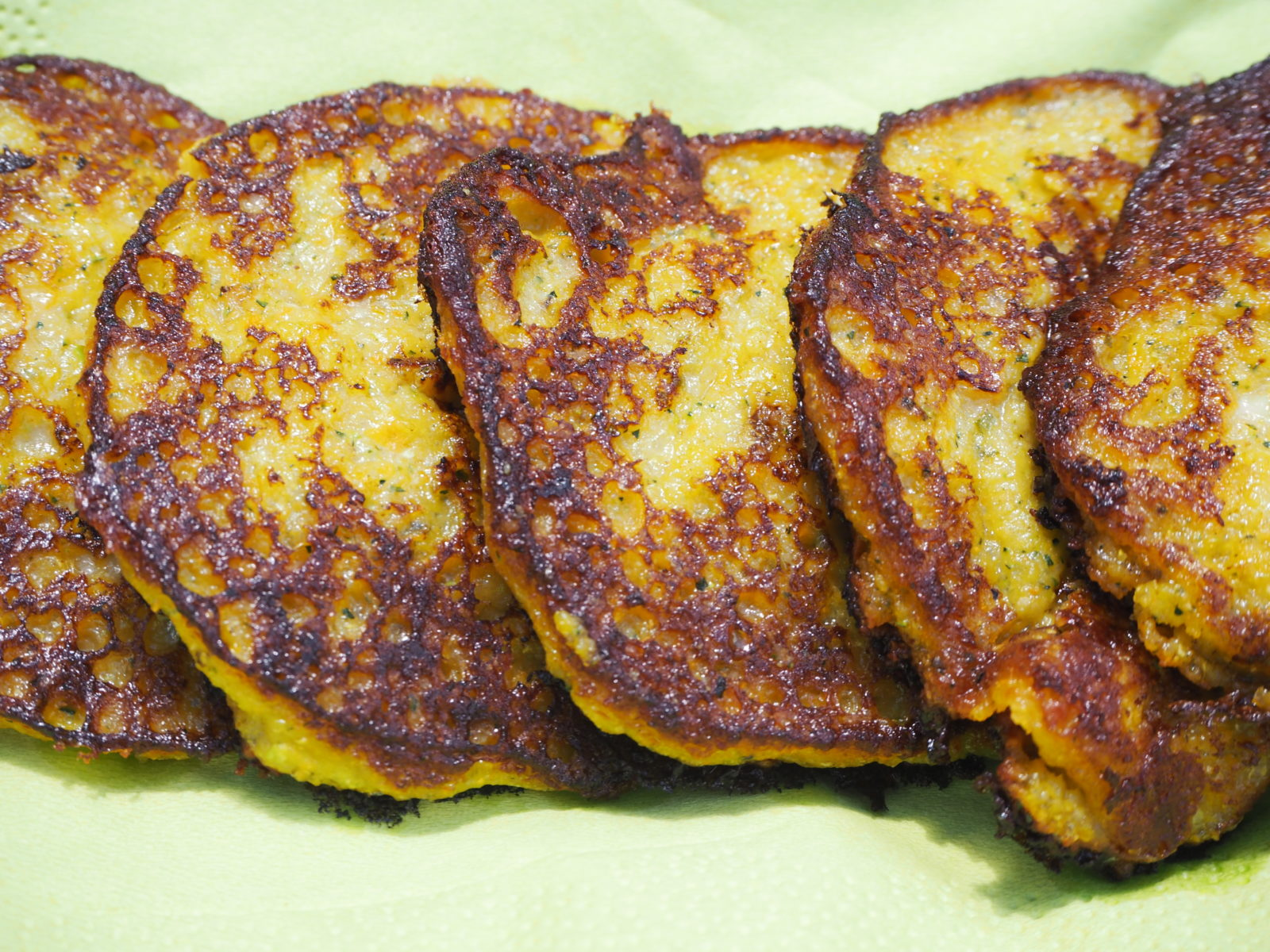 Courgette and Sweet Potato Fritters