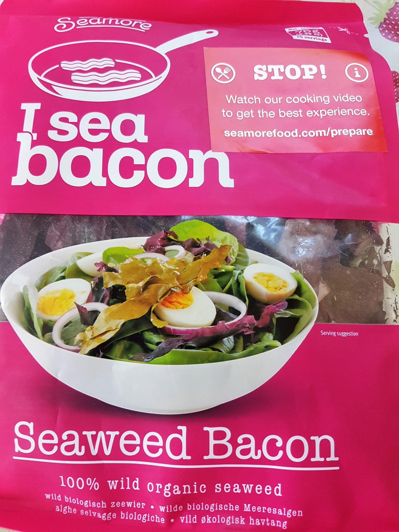 Seamore Seaweed I Sea Bacon Review