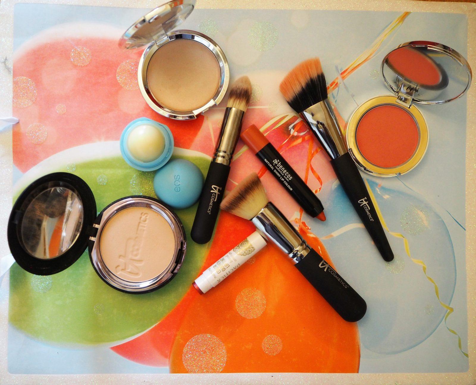 Gluten Free Beauty Haul: Benecos, Pacifia and IT cosmetics
