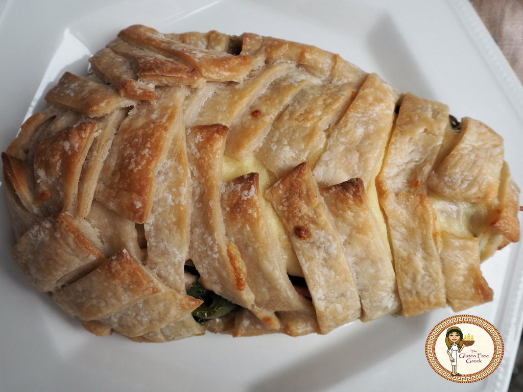 cheese and spinach plait 4
