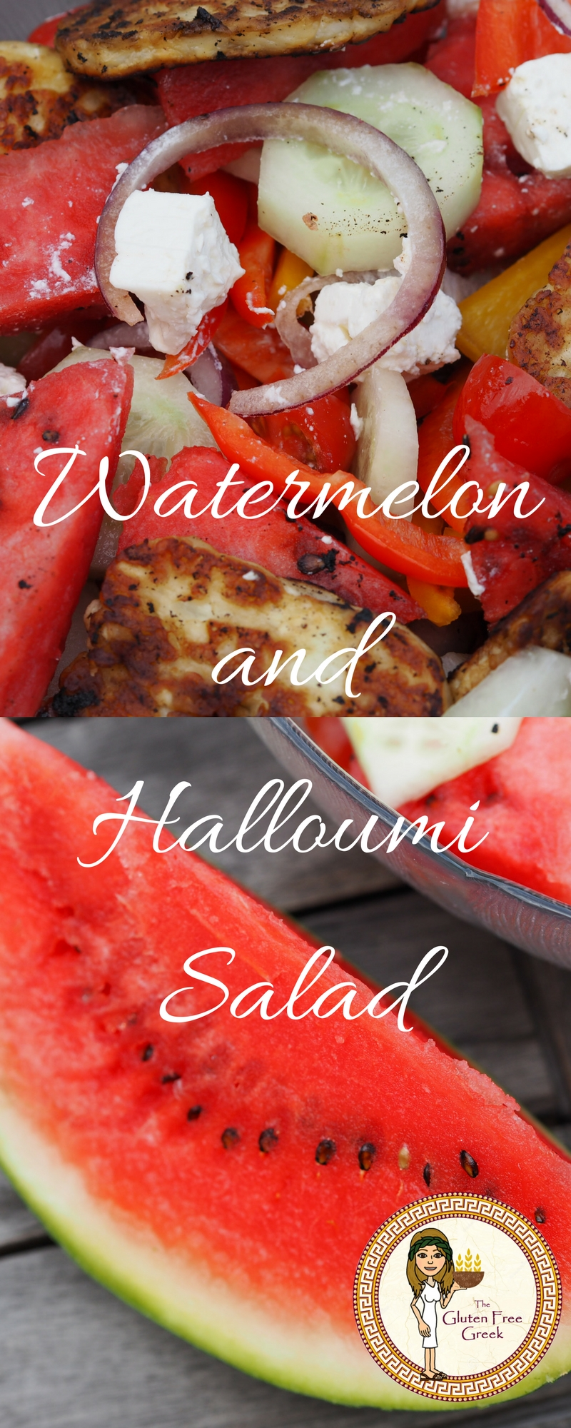 watermelon and halloumi pinterest