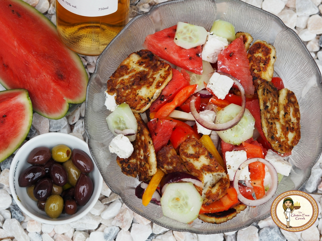 Mouthwatering Watermelon and Halloumi Salad