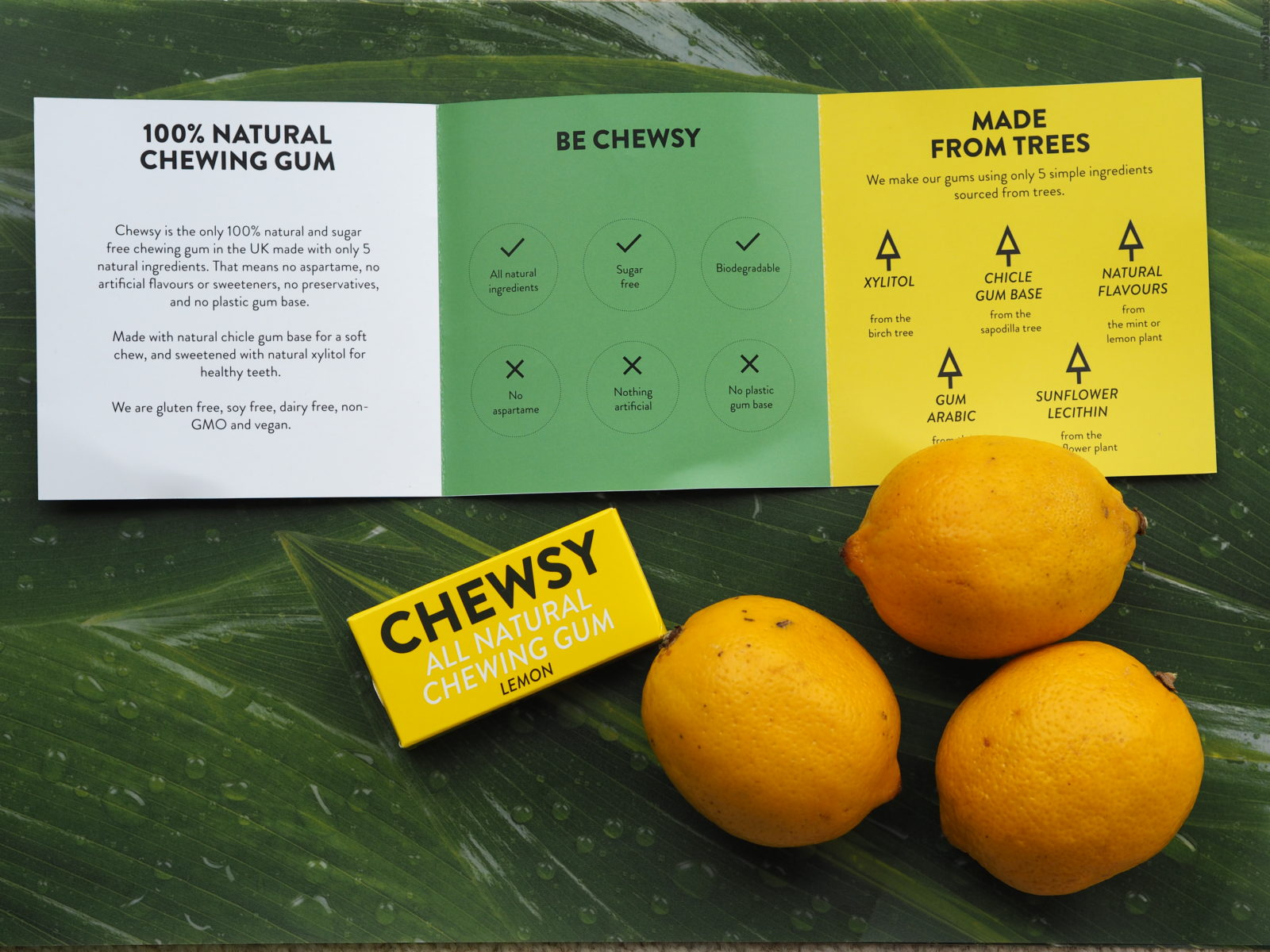 chewsy gum lemon