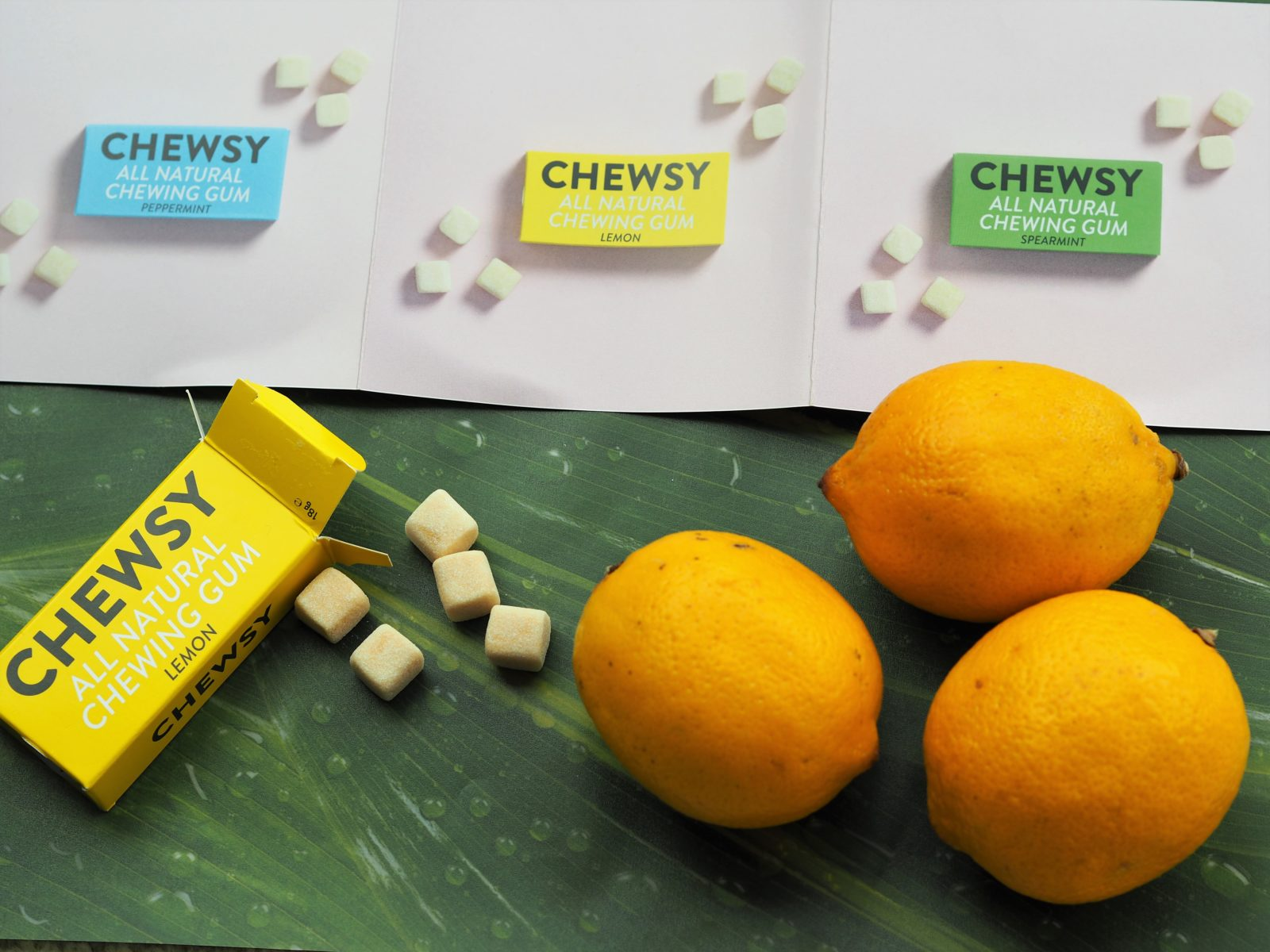 chewsy gum flavours