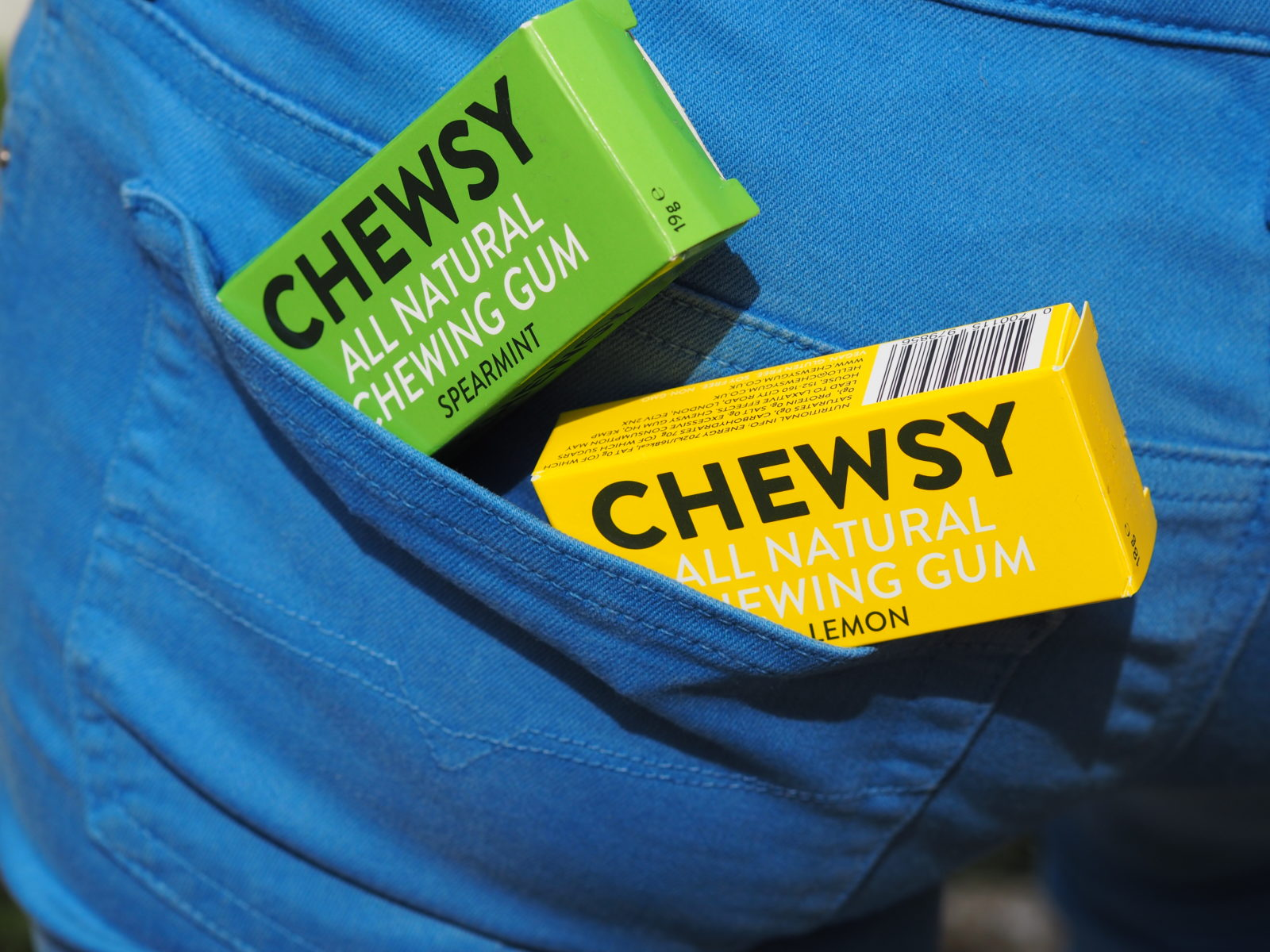 Chewsy Gum The 100% Natural Chewing Gum!