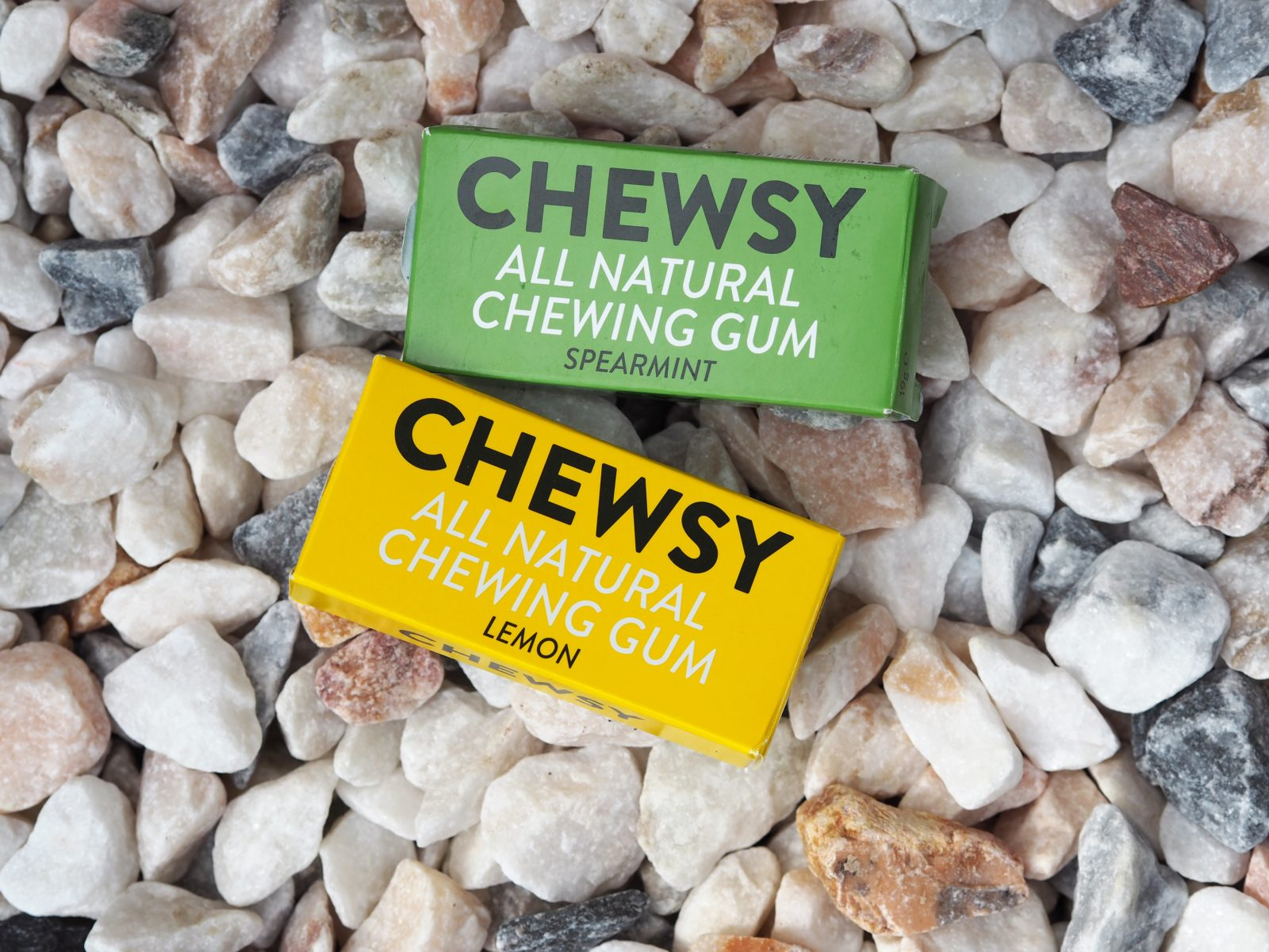 spearmint and lemon chewsy gum
