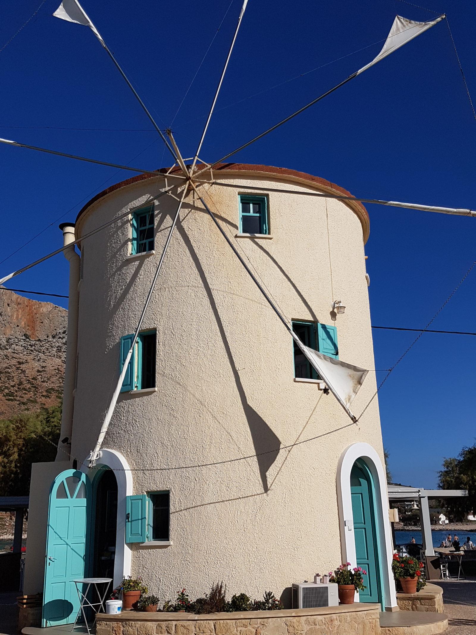 windmill taverna at zorbas beach