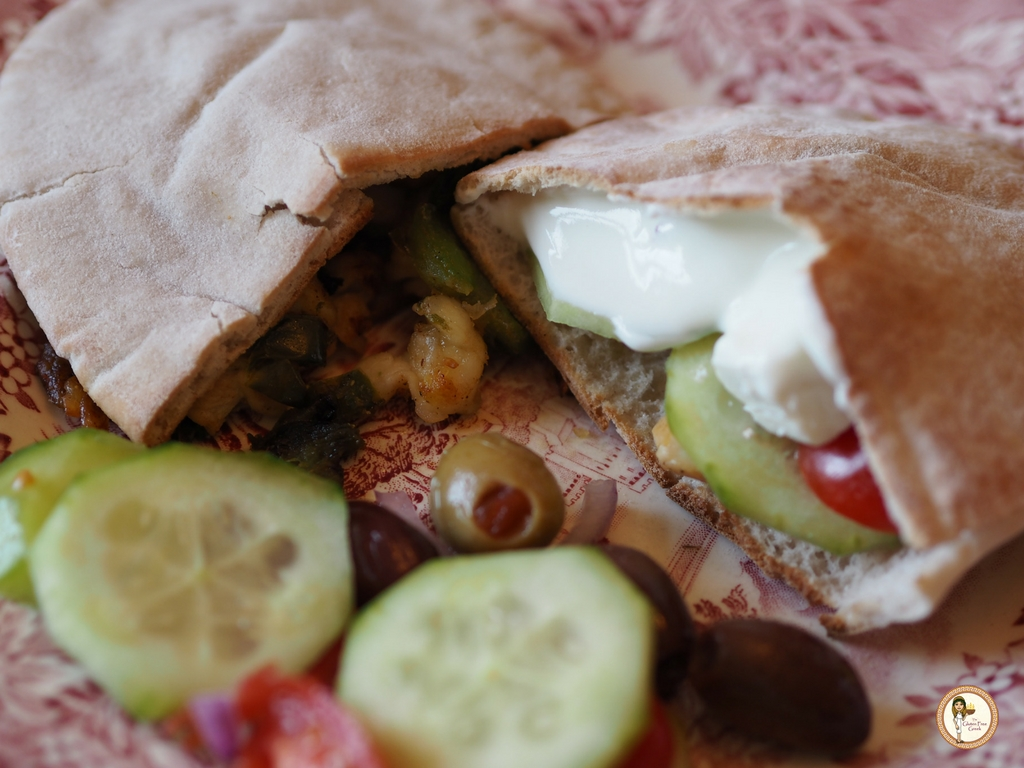 Healthy Greek Pitta's