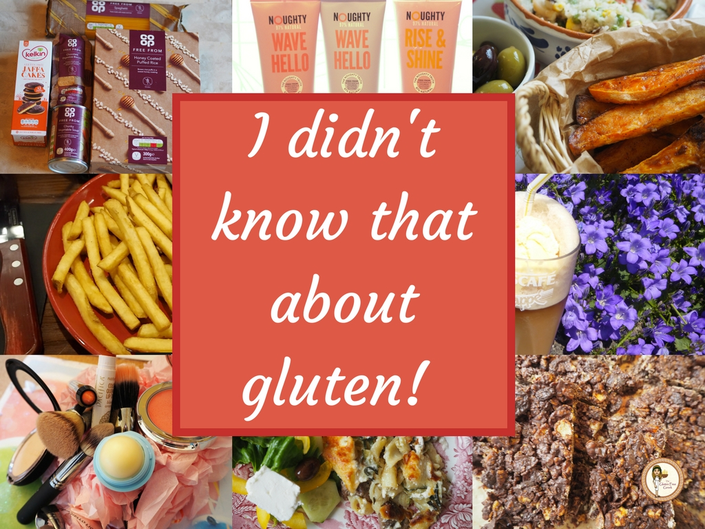I didn't know that about gluten!