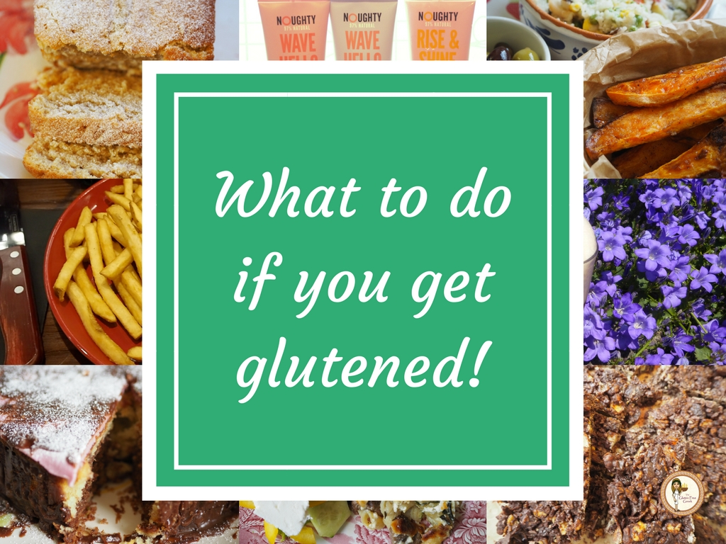 What to do if you get glutened!