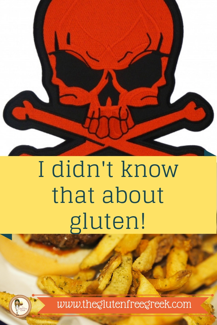I didn't know that abut gluten