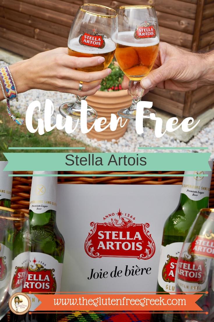 gluten free Stella artois Pinterest