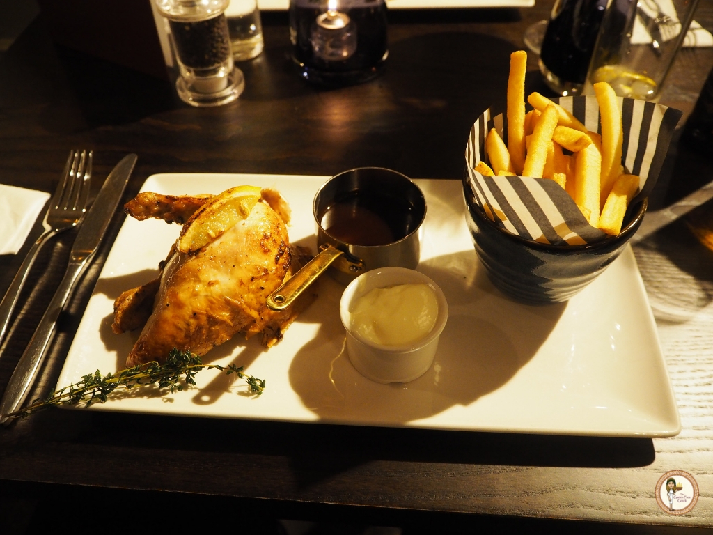 spit roast chicken George and dragon epping
