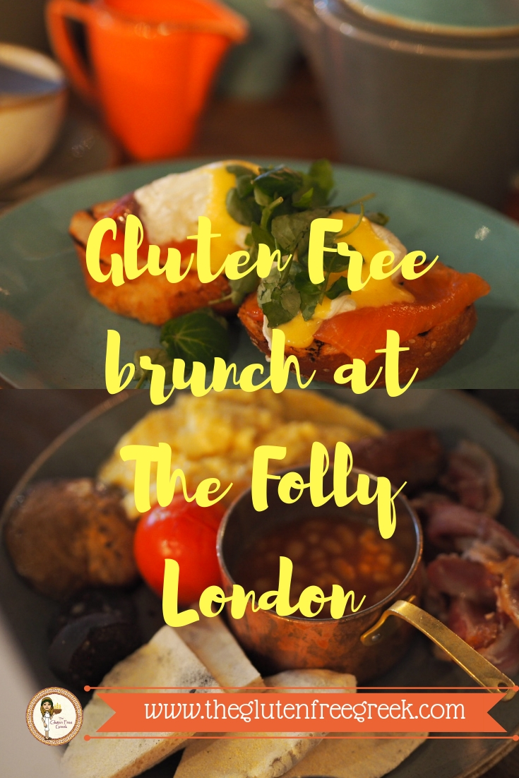 gluten free brunch the folly london