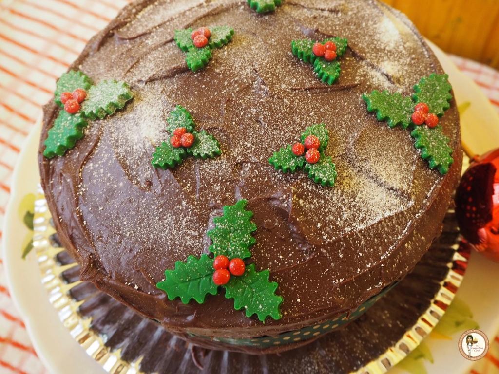 Betty crocker chocolate xmas cake