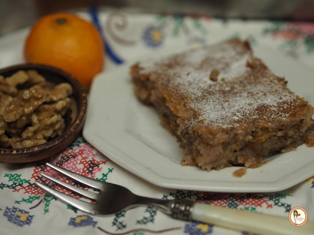 Greek Walnut Cake Karithopita