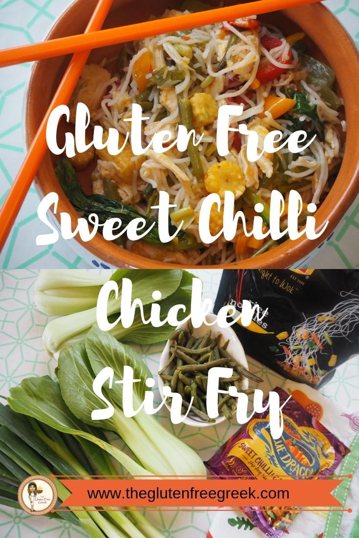 sweet chilli chicken stir fry