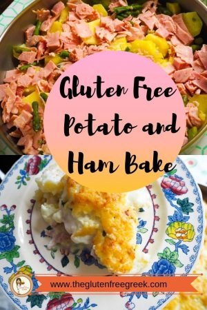 potato and ham bake pinterest