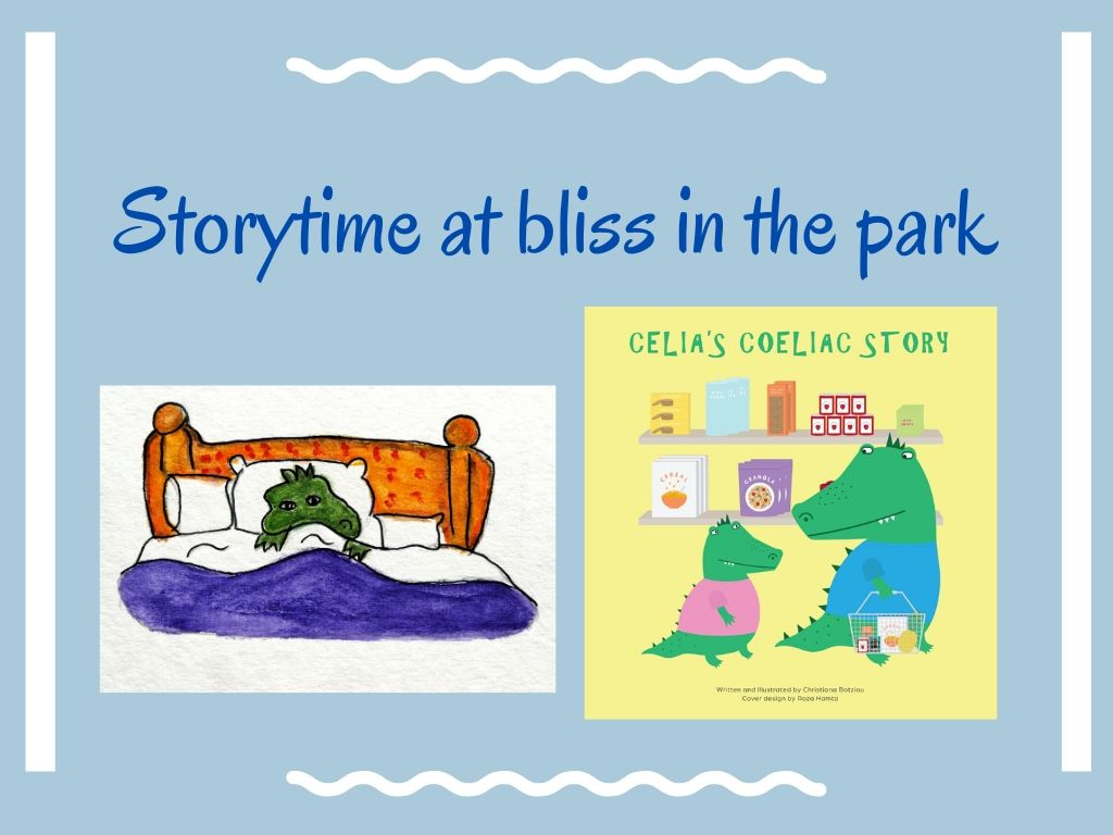 storytime bliss in the park