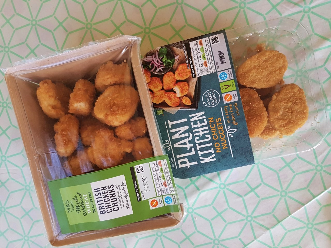 weekly meals chicken nuggets