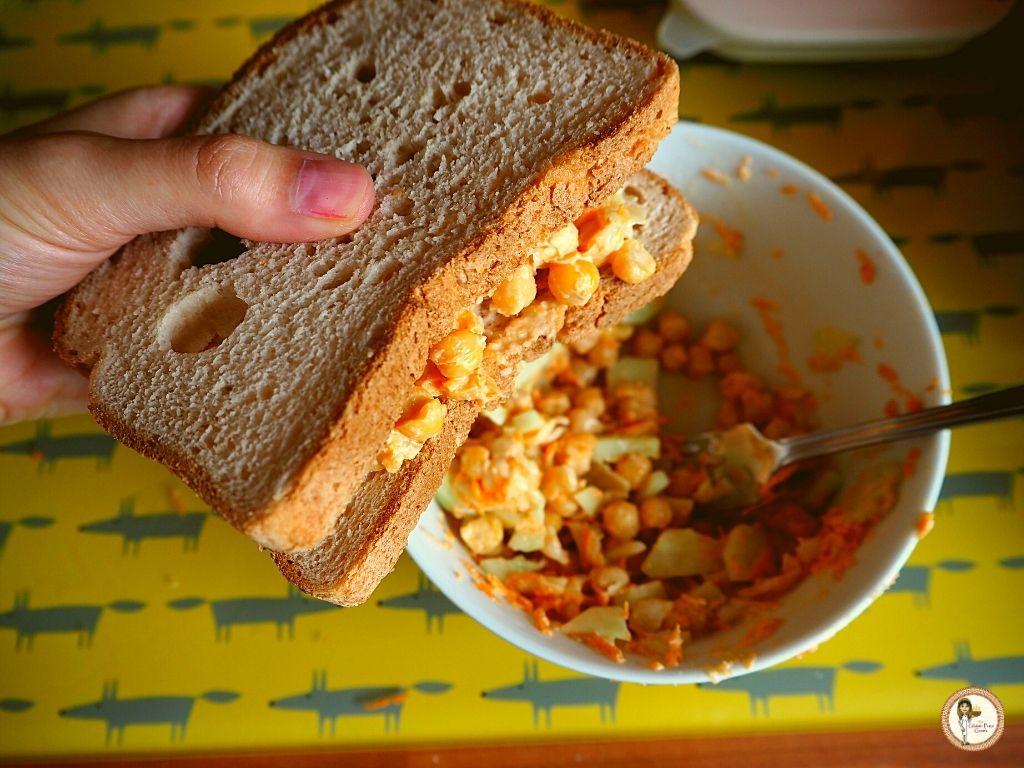 chickpea sandwiches