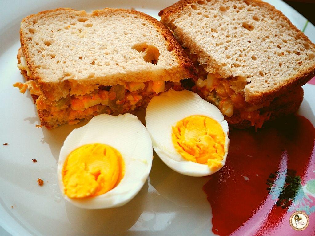 egg mayonaise sandwiches