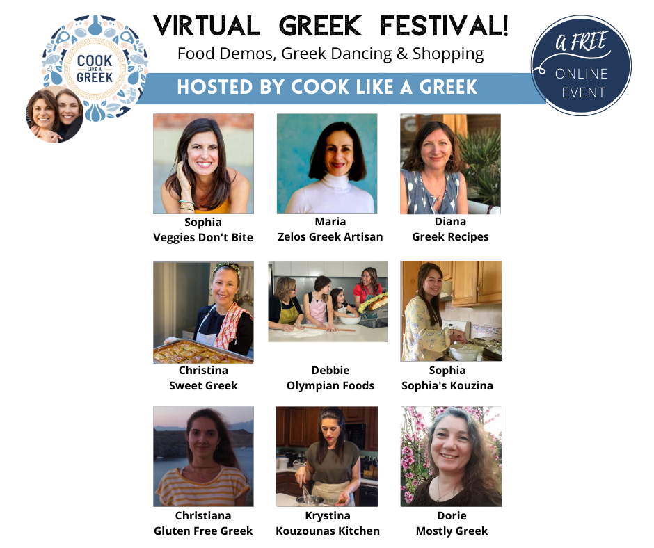 Join the first annual virtual Greek Festival!