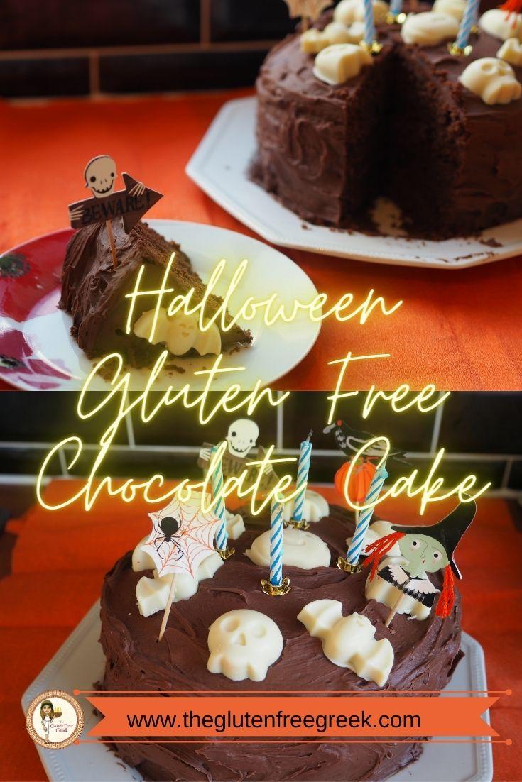 halloween choc cake pinterest