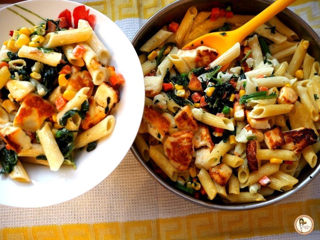 veggie pasta 2
