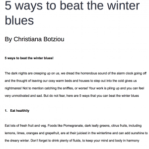brain fud 5 ways to beat the winter blues
